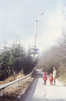 Bau des neuen Fernsehturms