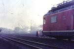 Feuer bei Eisenbahnkatastrophe