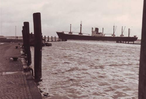 Wedel, Hafen 1962