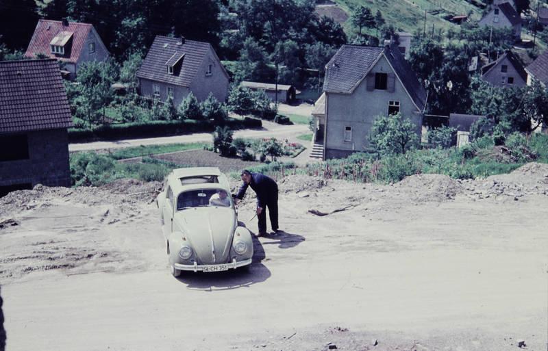 auto, Bau, Bauarbeit, Baustelle, Blaumann, käfer, KFZ, PKW, vw