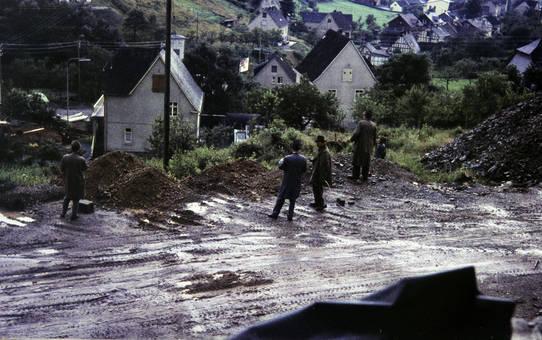 Männer auf der Baustelle