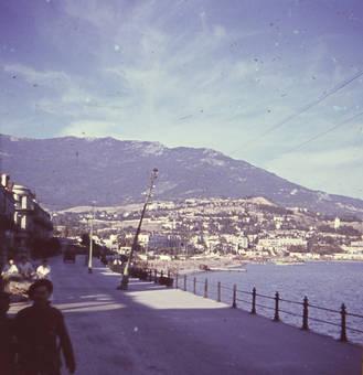 Strandpromenade in Jalta