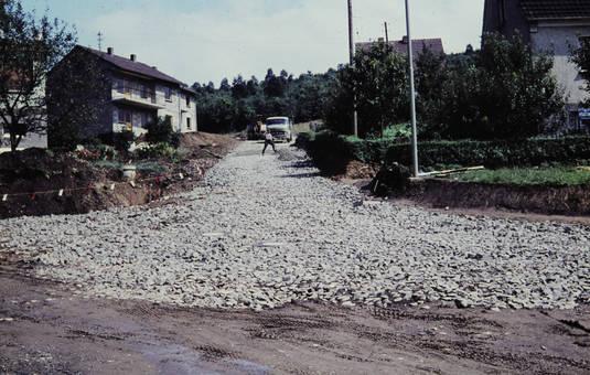 Bau der Achenbach-Siedlung