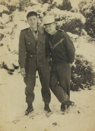 hut, Pullover, schnee, soldat, Uniform, winter