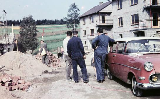 Achenbach-Siedlung im Bau