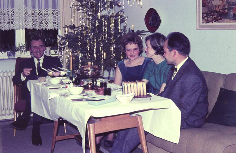 christbaum, essen, Lametta, Tannenbaum, toast, Weihnachten, Weihnachtsbaum