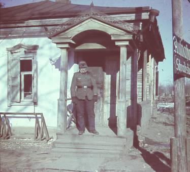 Vor der Tür