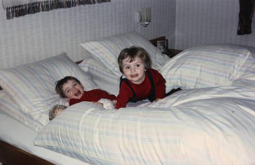 Kuscheliges Bett