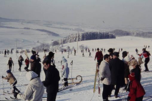 Skifahren auf der Lützel