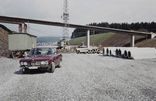 Die Siegtalbrücke entsteht