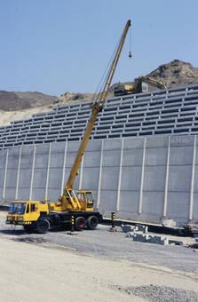 Baustelle zum Ausbau der HTS