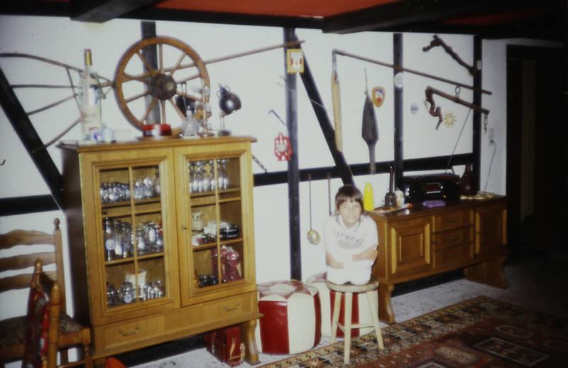 einrichtung, Hocker, Möbel, Radio, schrank, sitzkissen, Teppich