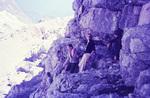 Klettern in den Bergen