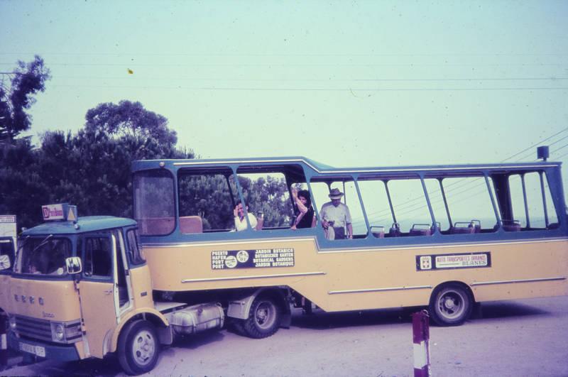 auto transportes urbanos, barcelona, Botanischer Garten, bus, ebro, ferien, KFZ, reise, Spanien, urlaub