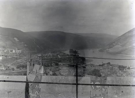 Panorama am Rhein