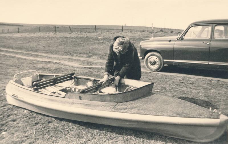 auto, boot, KFZ, Kindheit, mercedes, PKW, ponton, Ruderboot