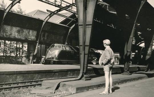 Hauptbahnhof in Barmen