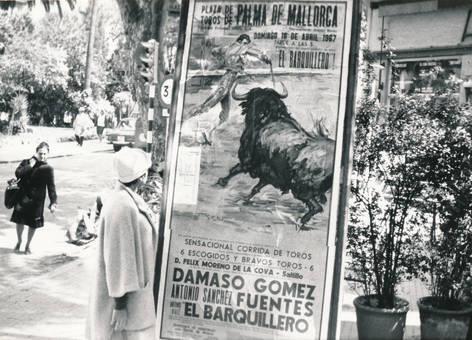 Werbung für den Stierkampf