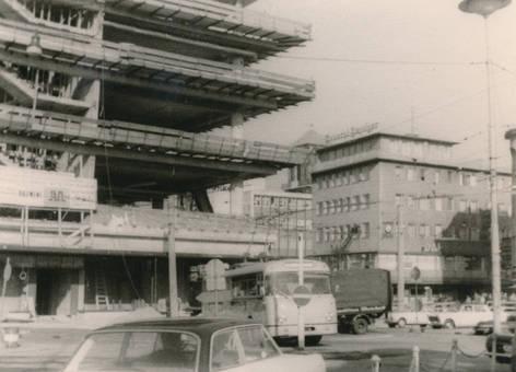 Baustelle in Barmen