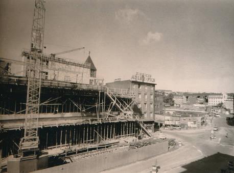 Baustelle in Wuppertal