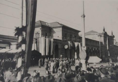 Adenauers Beerdigung