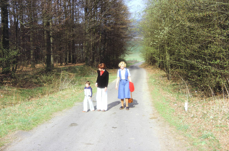 ausflug, familie, mode, Sauerland, spaziergang