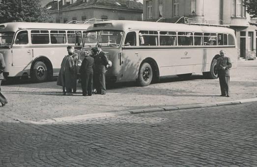Reise mit dem Postbus