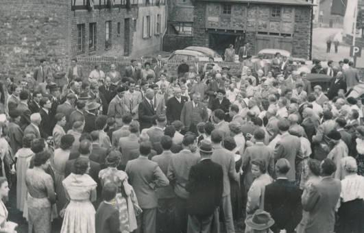 In der Menschenmenge