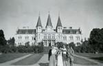 Schloss Frauenau im Sommer