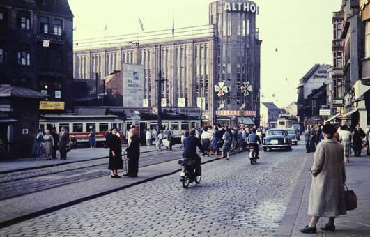 Altes Kartstadt Gebäude