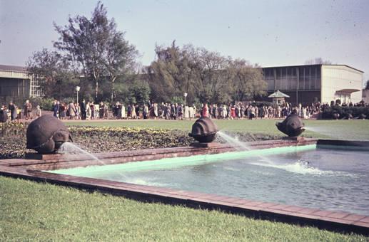 Brunnen im Grugapark