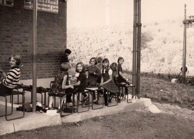 Bank, Kindheit, Klassenfahrt, köln, Schullandheim