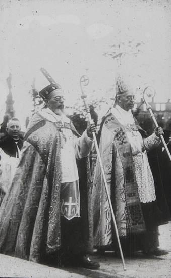700-jahrfeier, 700-jahrfeier kölner dom, bischof, Geistlicher, Holland, köln