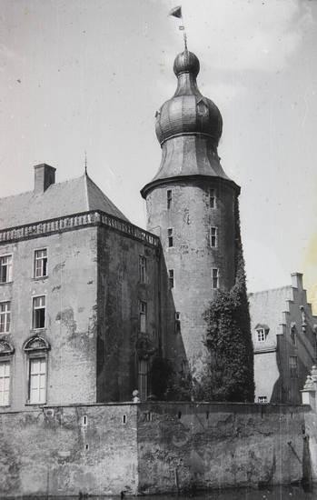 Architektur, Borken, burg, Burg Gemen, Münsterland, Wasserschloss