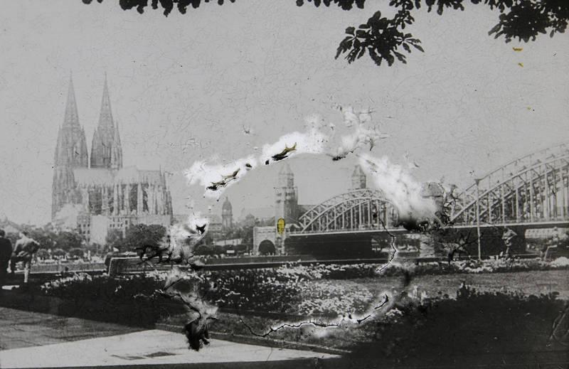 dom, hohenzollernbrücke, Kathedrale, köln, Kölner Dom, Rhein