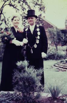 Schützenkönig und -königin