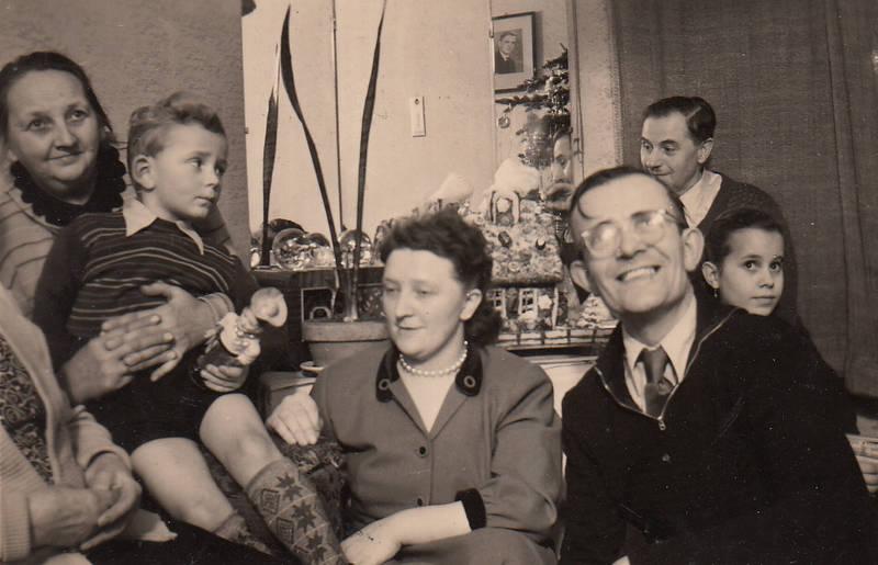 Blitzlicht, familie, Kindheit, Lebkuchenhaus, Weihnachten, Weihnachtsbaum