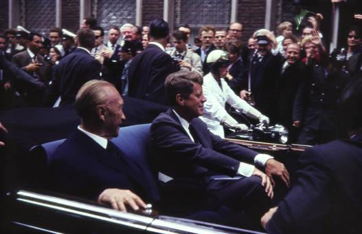 Adenauer und Kennedy