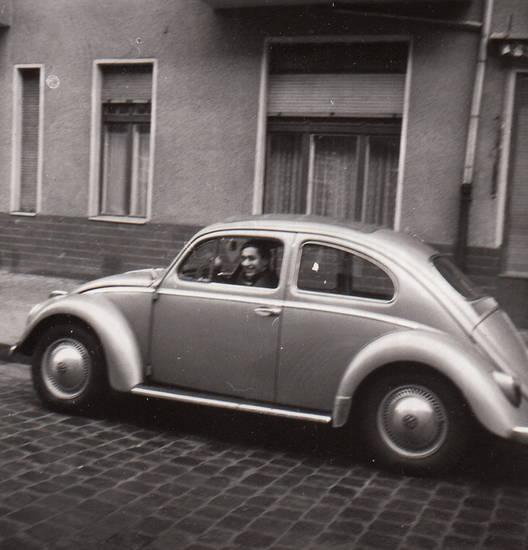 auto, KFZ, kopfsteinpflaster, PKW, VW Käfer