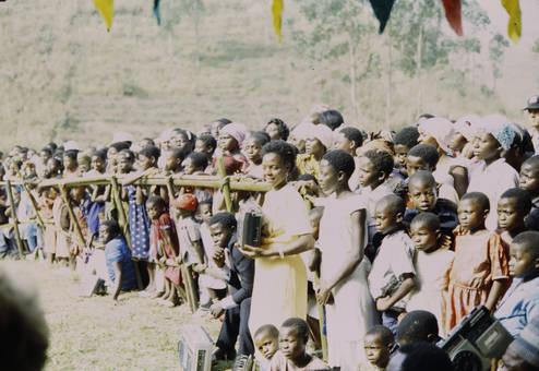 Versammlung in Kamerun