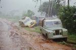 Regenzeit in Afrika
