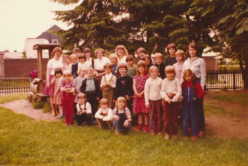 Abschiedsfoto vom Kindergarten