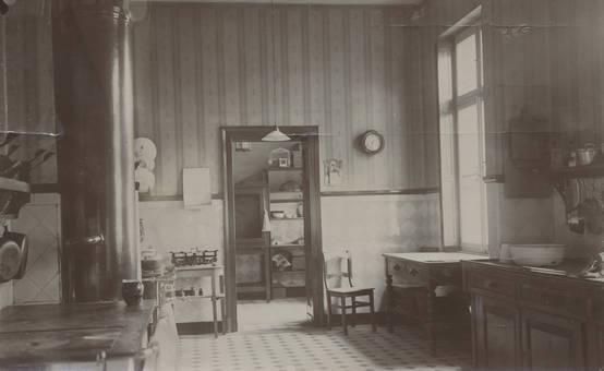 Küche von Schloss Eller