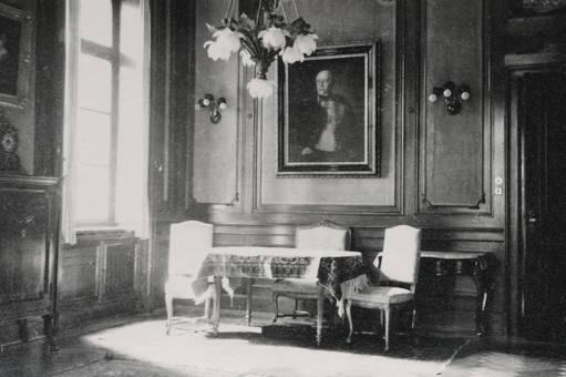 Porträt von Bismarck