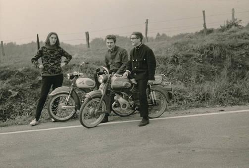 Ausflug mit den Motorrädern