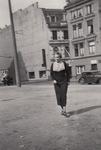 Hilde auf der Straße