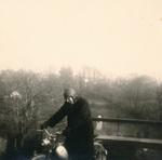 Fahrt mit dem Moped