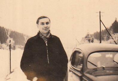 auto, KFZ, PKW, schal, schnee, VW-Käfer, winter