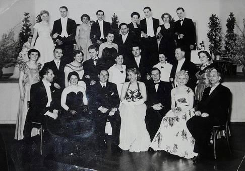 Tanzclub in Mainz 1950/53