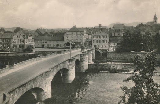 Blick auf Witzenhausen